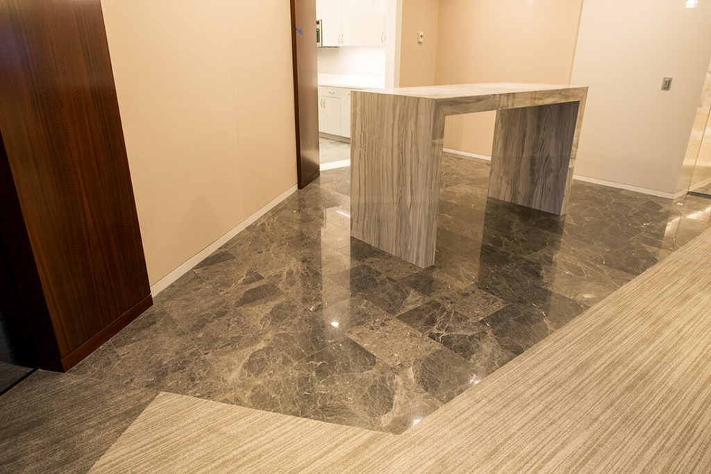 Business Interior Floors | Porcelain Stone and Tile